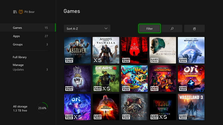 Dynamic themes on Xbox Series X and S: Microsoft has released an interface update